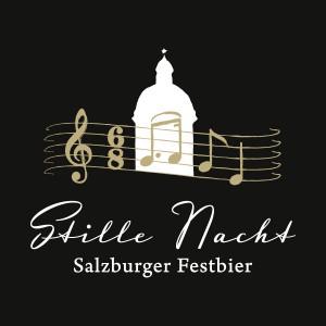 """Das Logo des """"Stille Nacht Festbieres"""""""