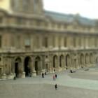 Ein Innenhof des Louvre in Paris.