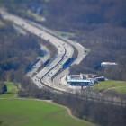 Die A1 bei Salzburg.
