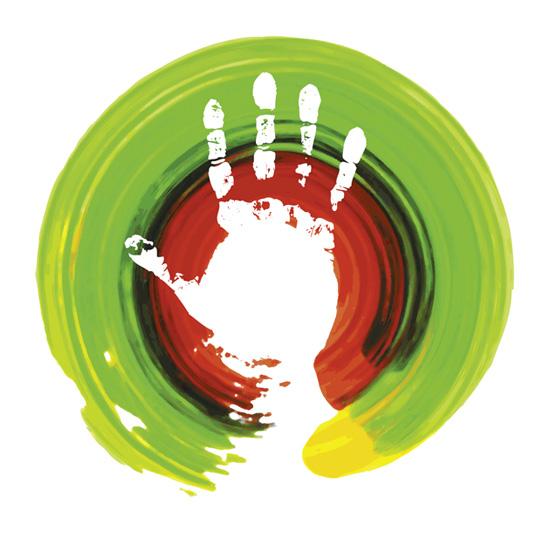 Das Logo von Handwerk Phystiotherapie, entworfen von Rolf Karner