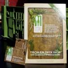 Der Folder sowie die Visitenkarten für das Genussbuffet