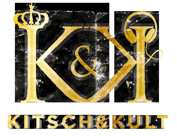 """Logo für das Programm """"Kitsch&Kult"""" des Montafoner Sommers."""